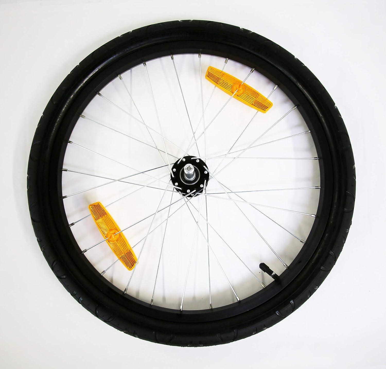 Burley Unisex-Rad, 50,8 cm, Schwarz silberfarben