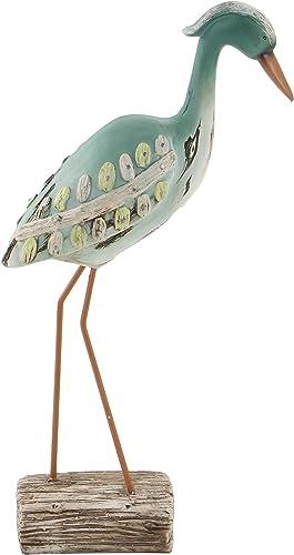 Deco 79 76322 Polystone Sea Bird Multicolor