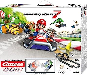 Carrera - Circuito GO 143 Nintendo Mario Kart 7 (Mario y Luigi) 4.9 metros