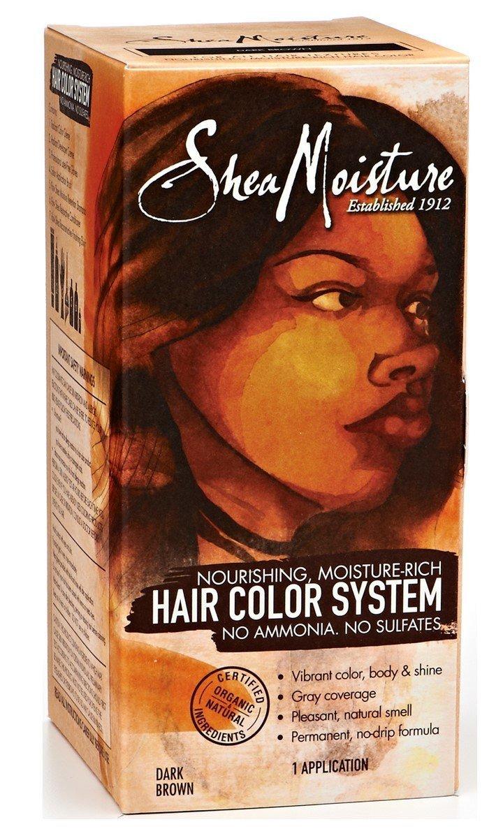 Amazon Shea Moisture Dark Brown Hair Color System By Shea