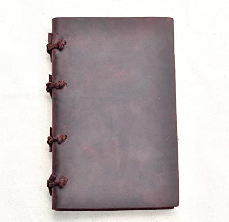 Image of: Vacation Mens Leather Bound Notebook Old Leather Notebook Leather Travelers Notebook Retro Diary For Amazoncom Amazoncom Mens Leather Bound Notebook Old Leather Notebook