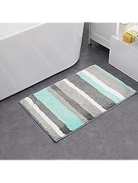 bathroom rugs and mats. HEBE Non slip Bathroom Rug Mat Shag Microfiber Shower Bath Absorbent  for Shop Amazon com Rugs