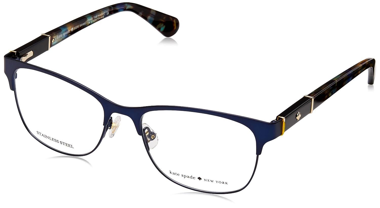 ebc11b8093 Eyeglasses Kate Spade Benedetta 0RCT Matte Blue  Amazon.ca  Clothing    Accessories