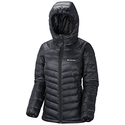 .com : Columbia Women's Gold 650 TurboDown Radial Down Hooded Jacket : Clothing