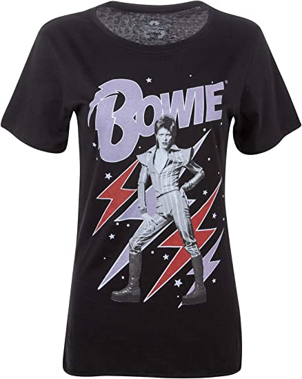 Dark David Bowie Retro Punk Rock 100/% cotton 100/% cotton Tee T-Shirt Size XL