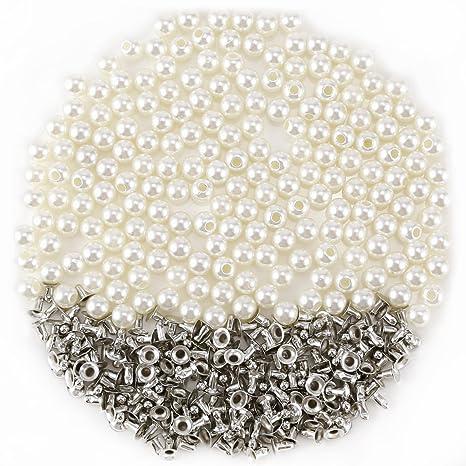 Remaches y perlas botón costura DIY Artesanía para ropa ...