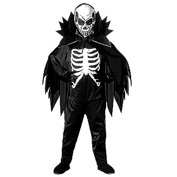 WIDMANN Scary - Disfraz de esqueleto de halloween para niño, talla ...