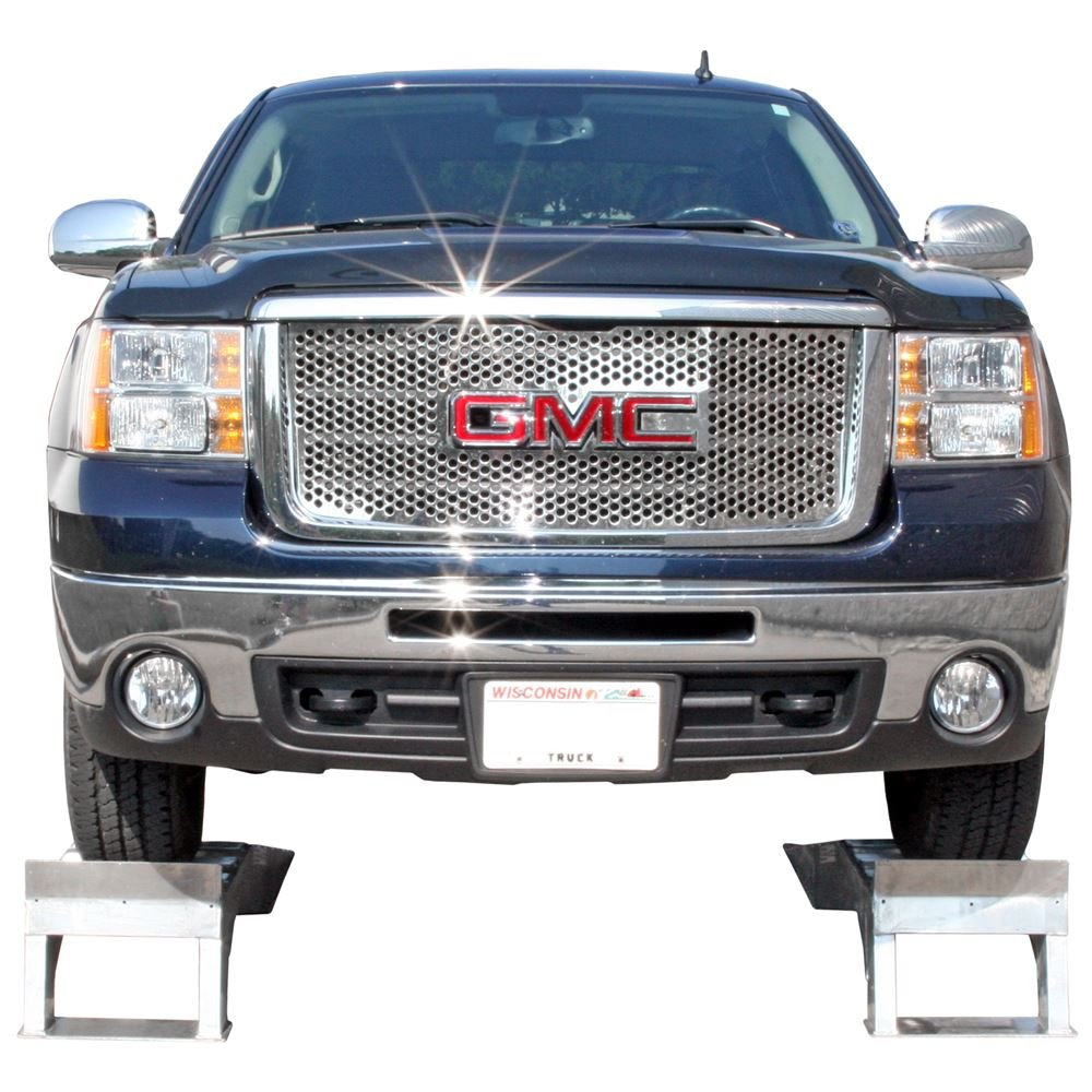Pair of Aluminum Pickup Truck Wheel Riser Service Ramps by Rage Powersports (Image #5)