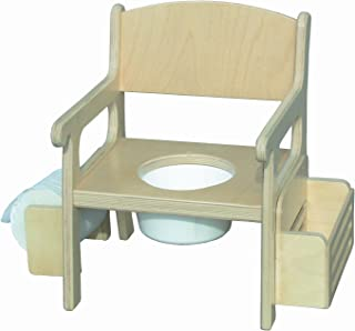 product image for Little Colorado Unfinished Potty Chair with Accessories
