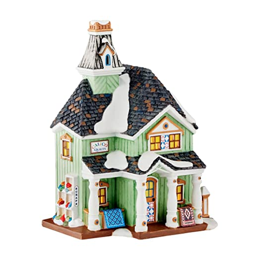 Department 56 4050955 New England Village, Calico Quilts