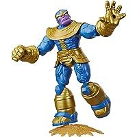 Marvel Avengers Bend and Flex-actiefiguur, flexibele Thanos-figuur van 15 cm, met blastaccessoire, voor kinderen vanaf 6…