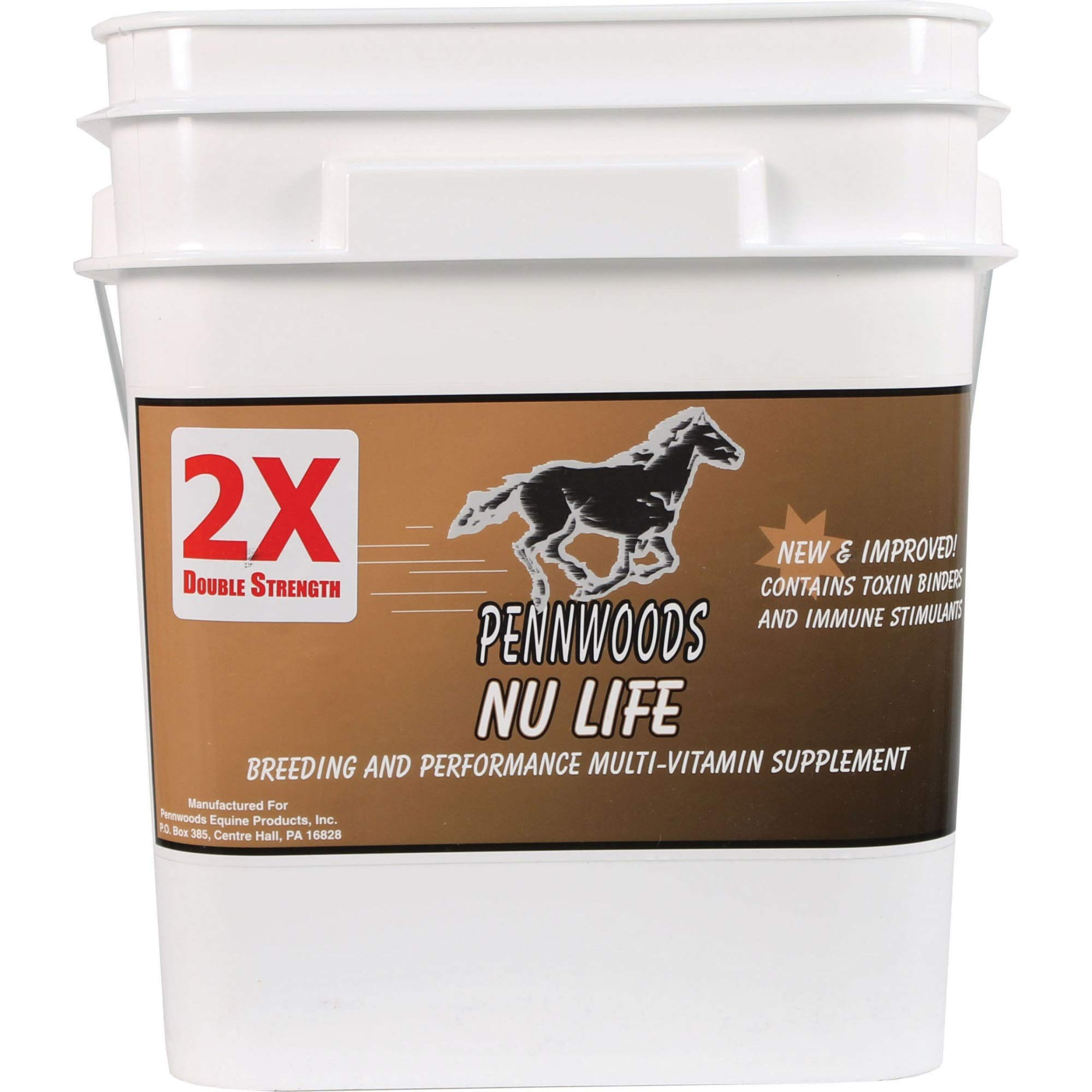 Pennwoods Equine Products 120781 Nu Life 2X Breeding & Vitamin Horse Supplement, 25 lb by Pennwoods Equine
