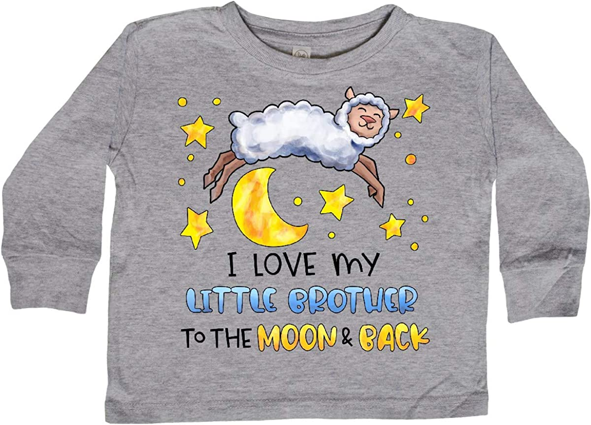 inktastic I Love My Mommy to The Moon and Back Cute Sheep Long Sleeve Creeper
