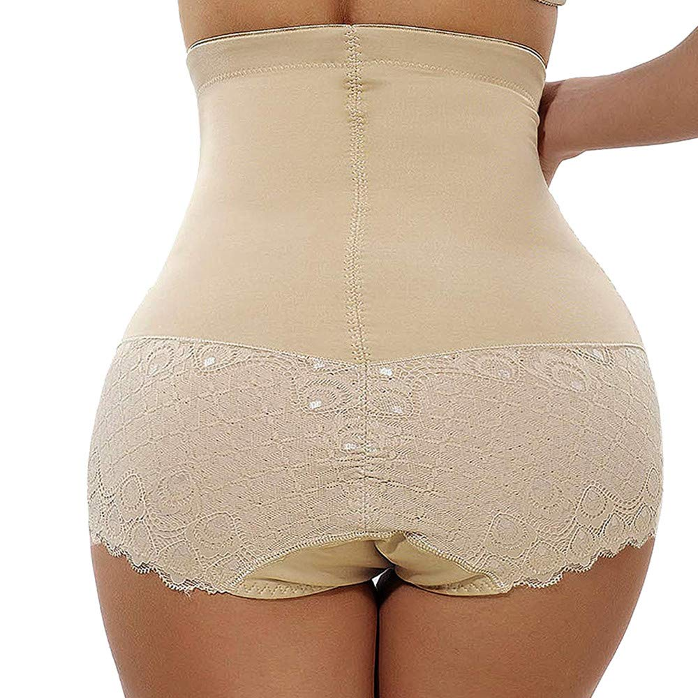 OOEOO Womens Body Shaper High Waist Butt Lifter Control Panty Slim Waist Hip Pants