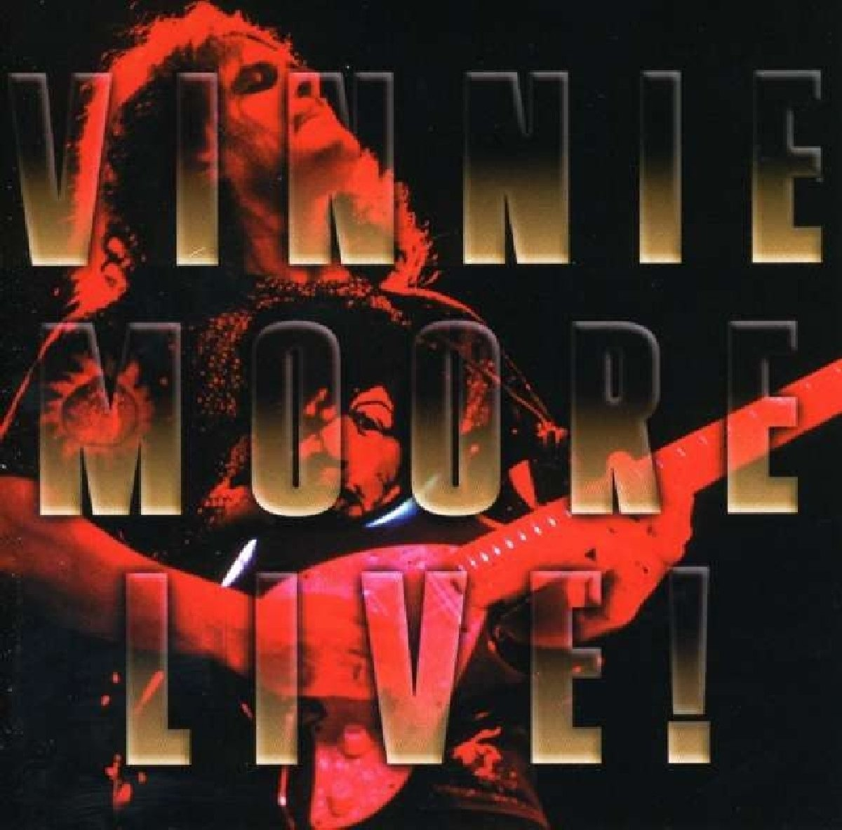 VINNIE MOORE LIVE by SHRAPNEL (ORCH)