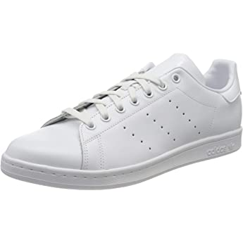 cocaína preocupación Acuario  adidas Originals Stan Smith, Zapatillas de Deporte Unisex Adulto, Blanco  (Running White Footwear/Running White Footwear/Collegiate Red), 44 2/3 EU:  adidas Originals: Amazon.es: Deportes y aire libre
