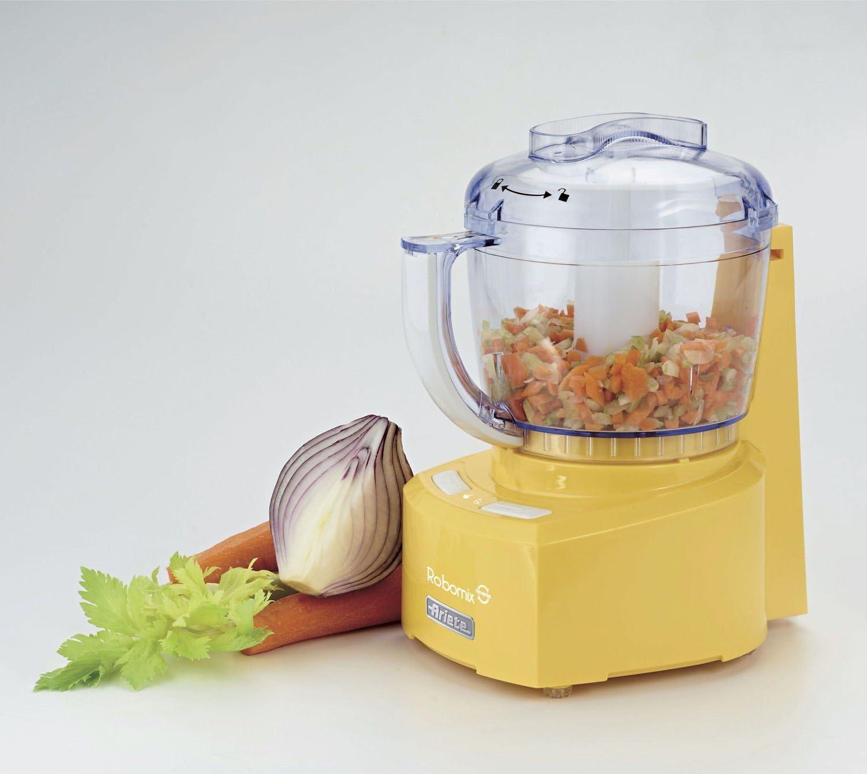 Ariete 1767 350W 0.4L Amarillo - Robot de cocina (0,4 L, Amarillo, Botones, De plástico, Acero inoxidable, 350 W ...