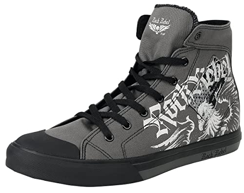 Rock Rebel by EMP Walk The Line Scarpe sportive grigio
