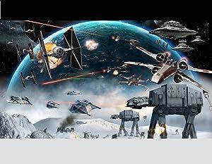 Star Wars Edible Image Darth Vader Yoda Luke Skywalker Photo Sugar Frosting Icing Cake Topper Sheet Birthday Party - 1/4 Sheet - 10162