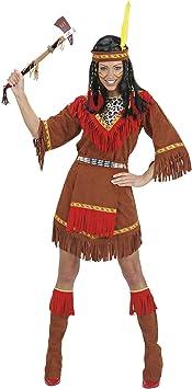 WIDMANN Desconocido Disfraz de India Apache Adulto: Amazon ...
