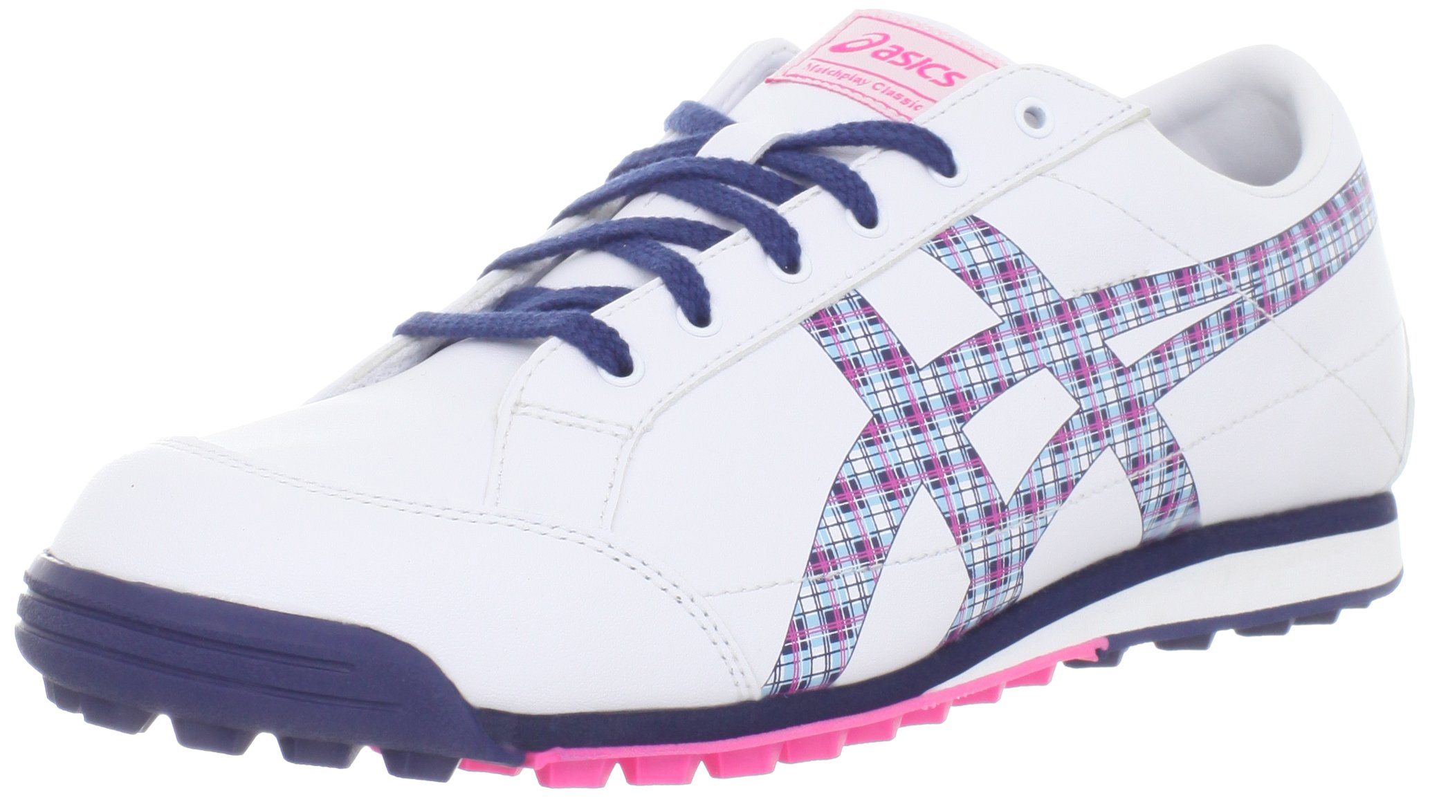 ASICS Women's Matchplay Classic White/Navy Sneaker 6 B - Medium