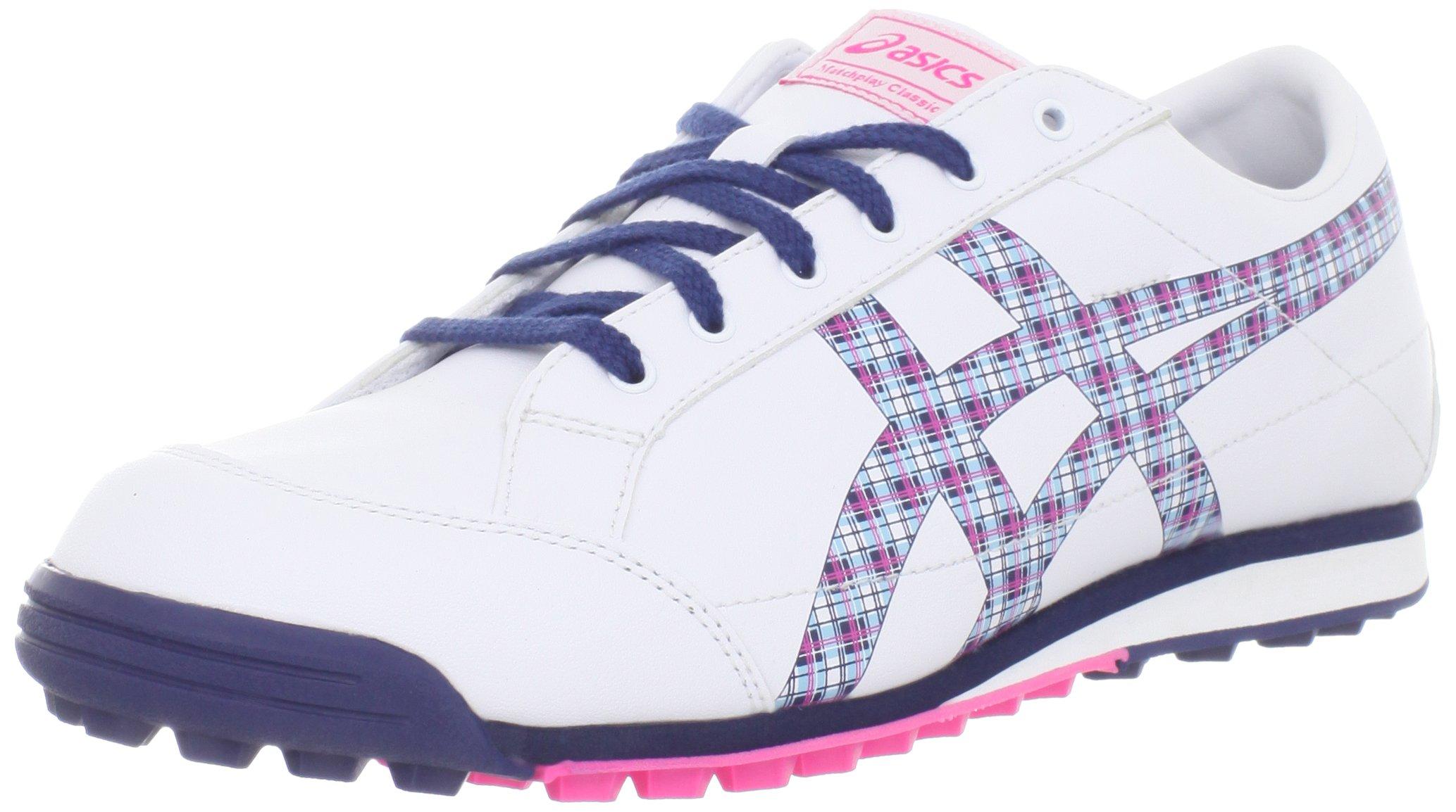 ASICS Women's Matchplay Classic White/Navy Sneaker 6 B - Medium by ASICS