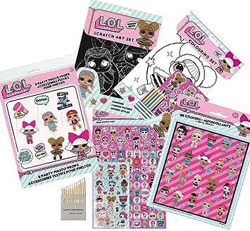 LOL Surprise Pack 5 Piezas Juego de Colorear LOL Favorito de los ...