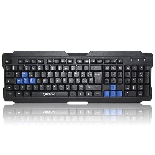 10 opinioni per Siriwa K1 Della Tastiera Gioco Dedicato USB Wired Keyboard Gaming Tastiera