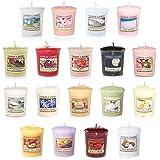 Yankee Candle 18个许愿香氛蜡烛 超值套装, 混合流行香味