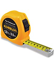 Komelon 4912IM The Professional Metric Scale Power Tape, 12-Foot Inch, Yellow