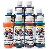 Color Splash! Liquid Watercolor Assortment, 8-oz. (Set of 10)