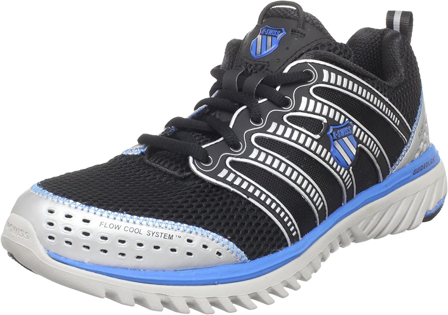 K-SWISS Blade Light Run Zapatilla de Running Caballero, Negro/Plata/Azul, 42: Amazon.es: Zapatos y complementos