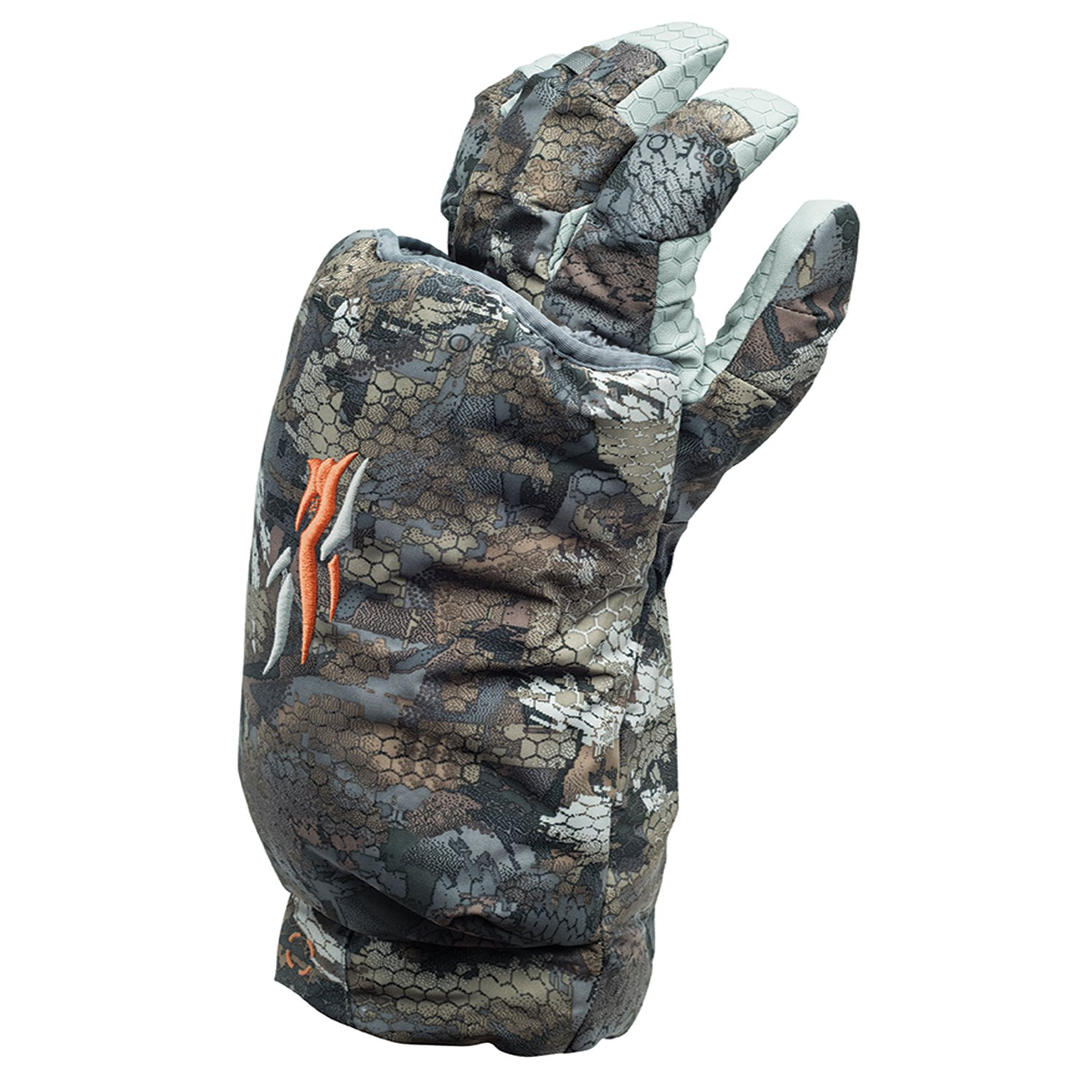 SITKA Gear Callers Glove (Left) Optifade Timber X Large by SITKA (Image #1)
