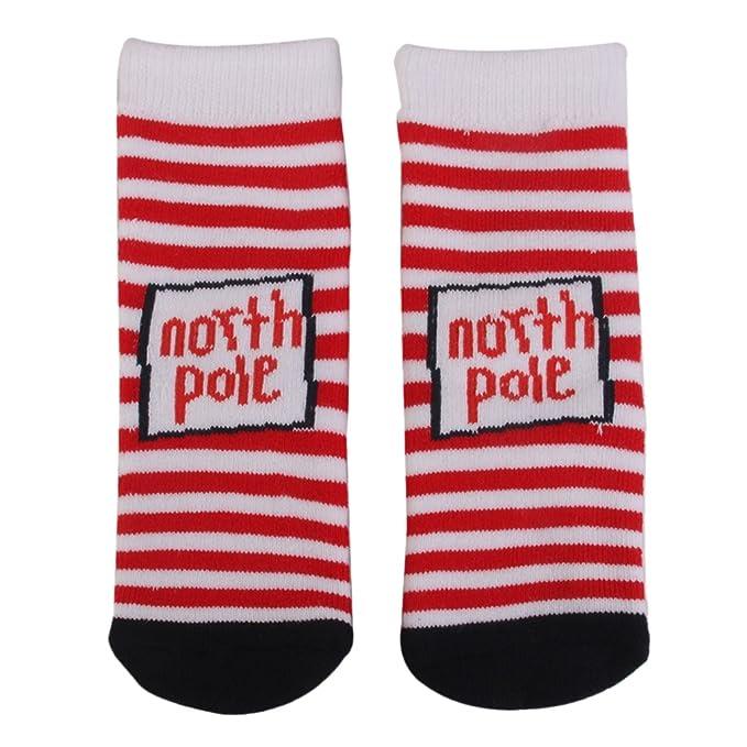 Par de calcetines infantiles, regalo de Navidad: Amazon.es: Ropa y accesorios