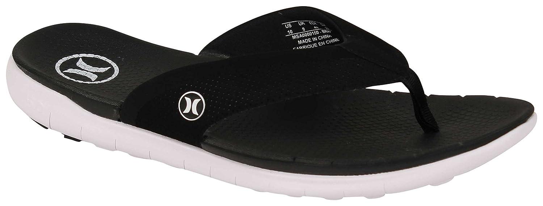 1798eb40c2d Amazon.com  Hurley Phantom Free Sandal - Black White - 13  Shoes