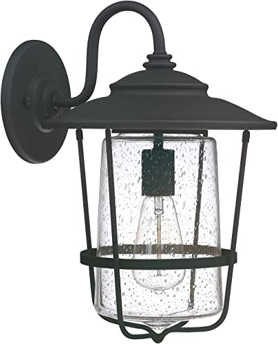 Capital Lighting 9602BK One Light Wall Lantern