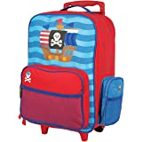 Stephen Joseph Classic Rolling Luggage, Pirate