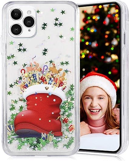 Liquide Paillettes Coque pour Apple iPhone 11 Pro Max, Obesky ...