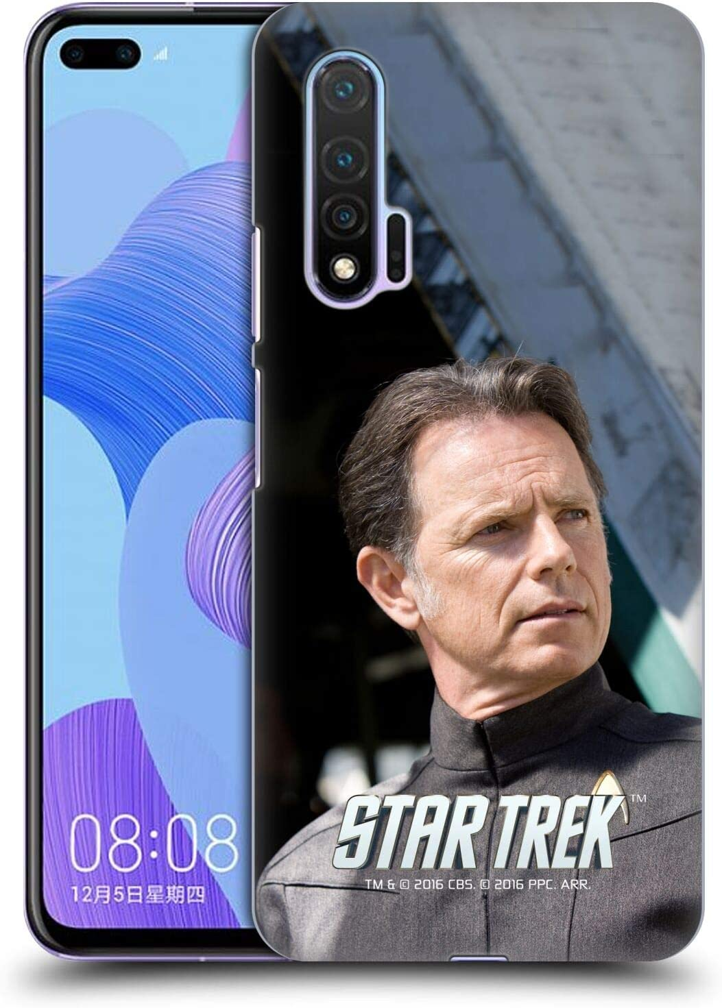 Head Case Designs Officially Licensed by Star Trek Admiral Pike Movie Stills Reboot XI Hard Back Case Compatible with Huawei Nova 6