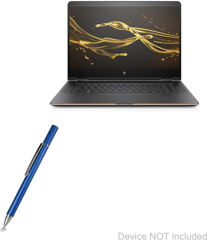 HP Spectre X360 Stylus Pen, BoxWave [FineTouch Capacitive Stylus] Super Precise Stylus Pen for HP Spectre X360 - Lunar Blue