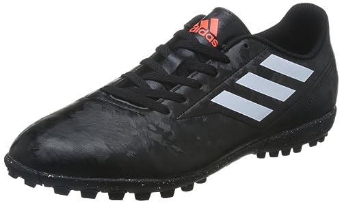 Adidas Tenis de fútbol para Hombre simipiel Negro con Blanco BB0560 ... 383caa39e58bb