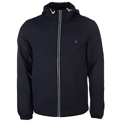 Mens Original Penguin Mens Lightweight Jacket in Black - 2XL ...