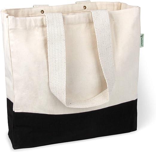 BagCouture Elegante y espaciosa Bolsa de Transporte de algodón ...