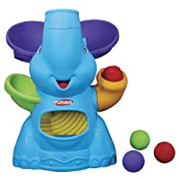 Playskool Elefun Busy Ball Popper Active Toy for Toddlers and Babies 9 Months and Up with 4 Colorful Balls (Amazon Exclusive)