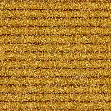 Meterware Teppichboden Auslegware gelb 568 verschiedene Gr/ö/ßen 200 cm Breite Tretford Interland Gr/ö/ße: 1,25 x 2m