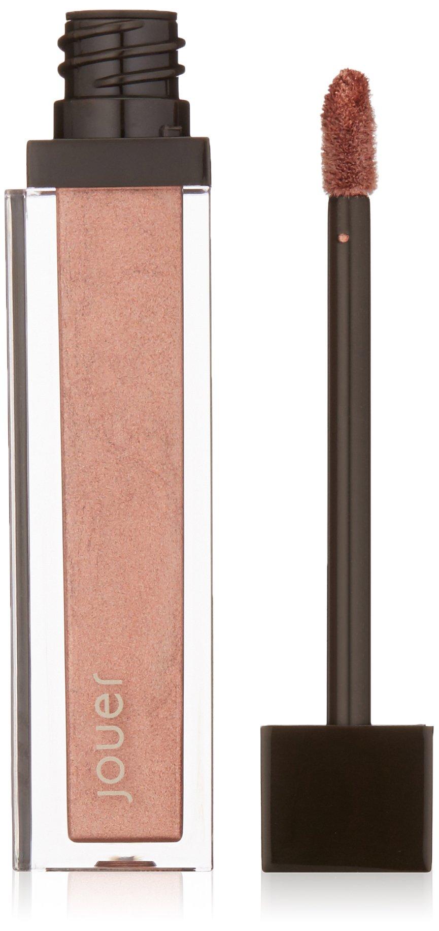 Jouer Long-wear Lip Crème, Metallic Deep Rose Gold, 0.21 fl. oz.