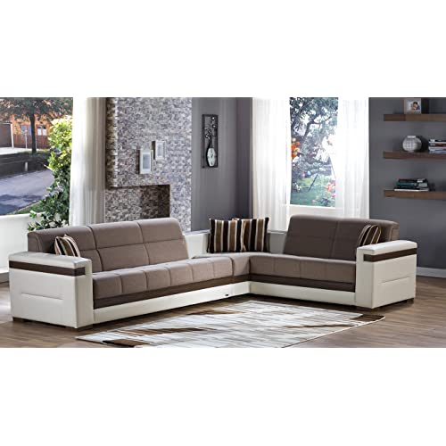 Moon Sectional Sofa Bed: Corner Sectional: Amazon.com