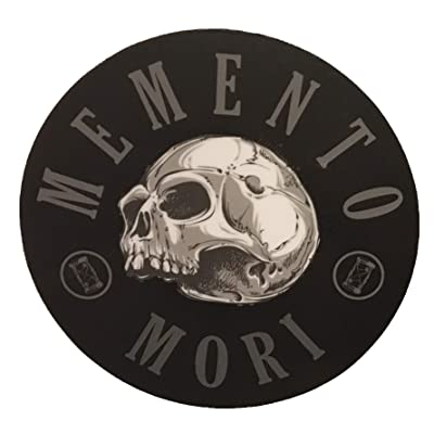 F-Bomb Morale Gear Memento Mori - Remember Death - Bumper Sticker Vinyl Decal: Automotive