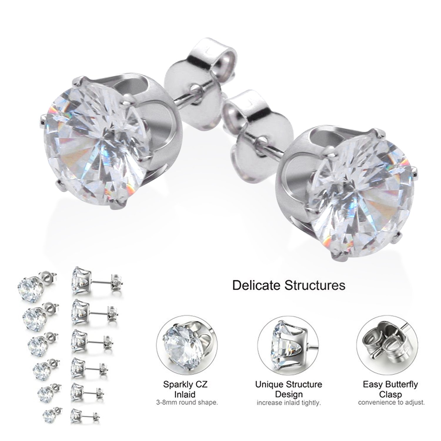 product heart earrings gemnation swarovski crystals leverback clasp with