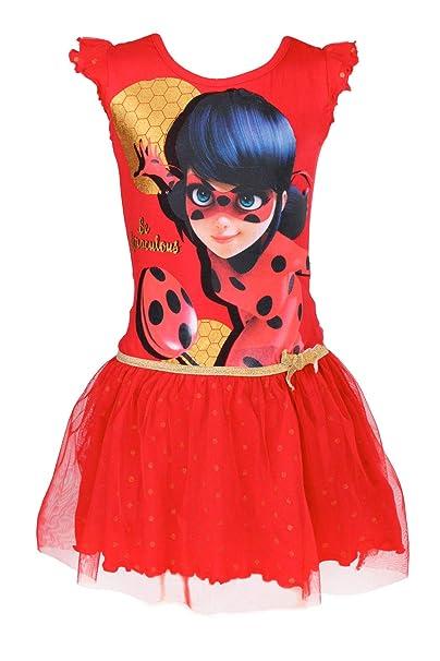Miraculous LadyBug Cat Noir - Vestido - para niña - 540-046
